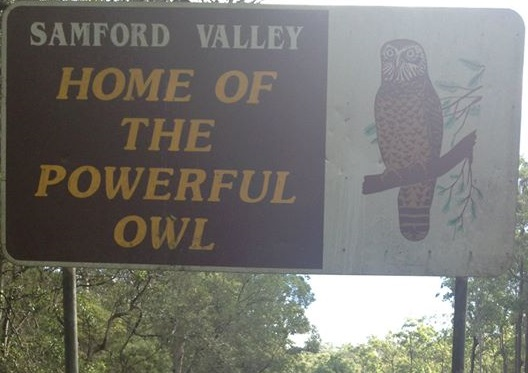 Samford Valley Sign