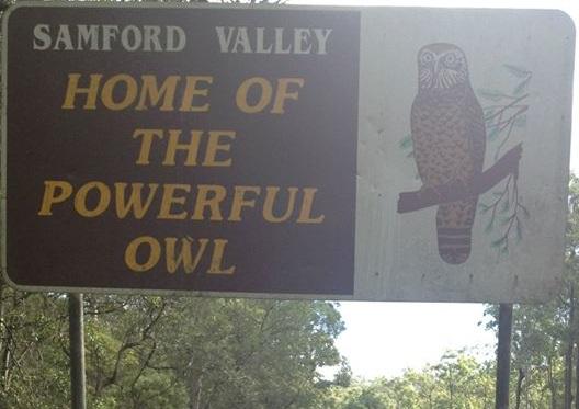 Samford Valley Sign