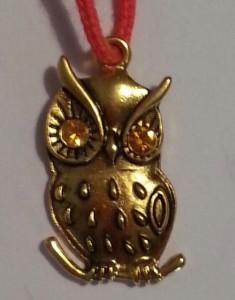 Token for the Golden Owl. Photo by Baroness Eva von Danzig.