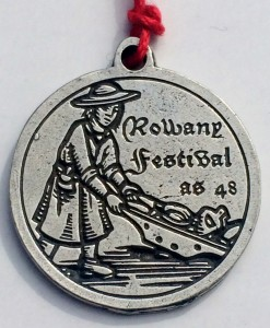 Rowany Festival event token AS48 Source: photo by THL Ceara Shionnach April 2014