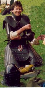 James the Sinister, 1st Viceroy of the Crown Principality of Lochac. Photo from archived Lochac websites.