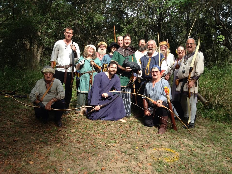 Archers at GNW XVI. Photo by Wintherus Alban, June 2014