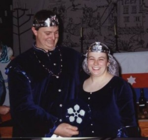 Prince Brusi and Princess Catherine. Photo by Baron Karl Faustus von Aachen 1993