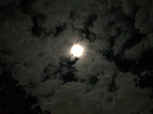 The super-moon that may have been powering up the collegians at ICW 19. Photo by TH Lady Ceara Shionnach, July 2014