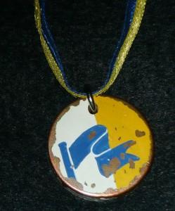 The award token for the Azure Pennon. Photo by Hrölf Herjölfssen, 2014.