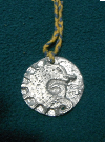 Award token for the Baronial Endorsement. Photo from the Kraé Glas Baronial website.