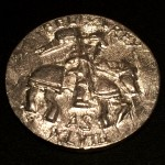 Coin cypher from the reign of Felix I and Eva I. Photo by TH Lady Ceara Shionnach.