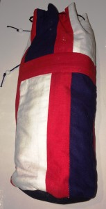 The water-bottle cover made for Crown Prince Niall inn Orkneyski II, photo by TH Lady Ceara Shionnach.