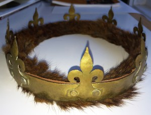Crown of Cumberland, made by Mistress Rowan Perigrynne, photo by TH Lady Ceara Shionnach.