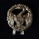 Award token for the Order of the Supporting Swans. Photo by Sir Nathan Blacktower.