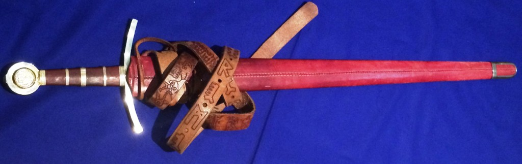 Lochac's third and current Sword of State, photo by TH Lady Ceara Shionnach.