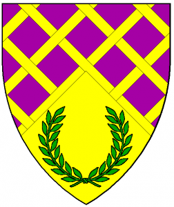 Arms of Bordescros, as rendered by Baron Master William Castille.