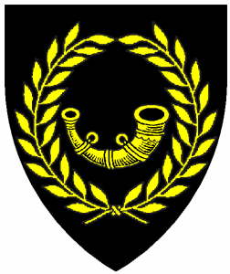 Arms of Darton, as rendered by Baron Master William Castille.