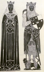Image representing Lochac's King and Queen from The Royal Commonplace Book by the Lochac Printers and Bookbinders Guild.