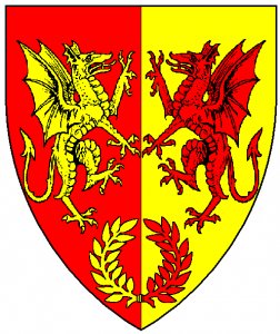 Arms of Adora, as rendered by Baron Master William Castille.