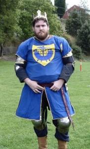 Gershom of Ravensdale, second Baron of Ynys Fawr. Photo courtesy of Drusticc Inigena Eddarrnonn.