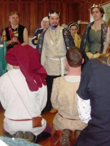 Inigo Missaglia and Cicilia Lyon, second Baron and Baroness of Ildhafn. Photo courtesy of Lady Anna de Wilde.