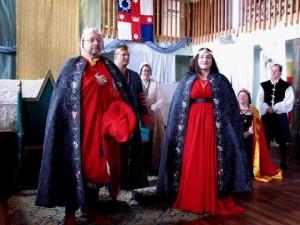 Emrys Tudur and Beatriz de Compostella, third Baron and Baroness of Ildhafn. Photo courtesy of Lady Anna de Wilde.