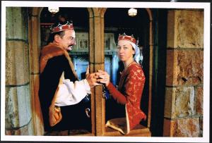 Alessandro von Florenz and Isobel le Bretoun, fourth Baron and Baroness of Politarchopolis. Photo courtesy of Don Alessandro von Florenz.