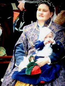 Contarina la Bianca, sixth Baroness of River Haven. Photo courtesy of Mistress Contarina la Bianca.