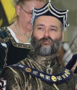 Wolfgang Adolphus Jaeger, sixth Baron of River Haven. Photo courtesy of Mistress Contarina la Bianca.