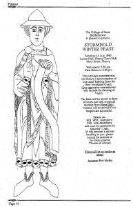 A St Bartholomew advertisement from Pegasus - July 1990 edition.