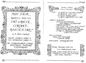 An Ynys Fawr advertisement from Pegasus - June 1990 edition.