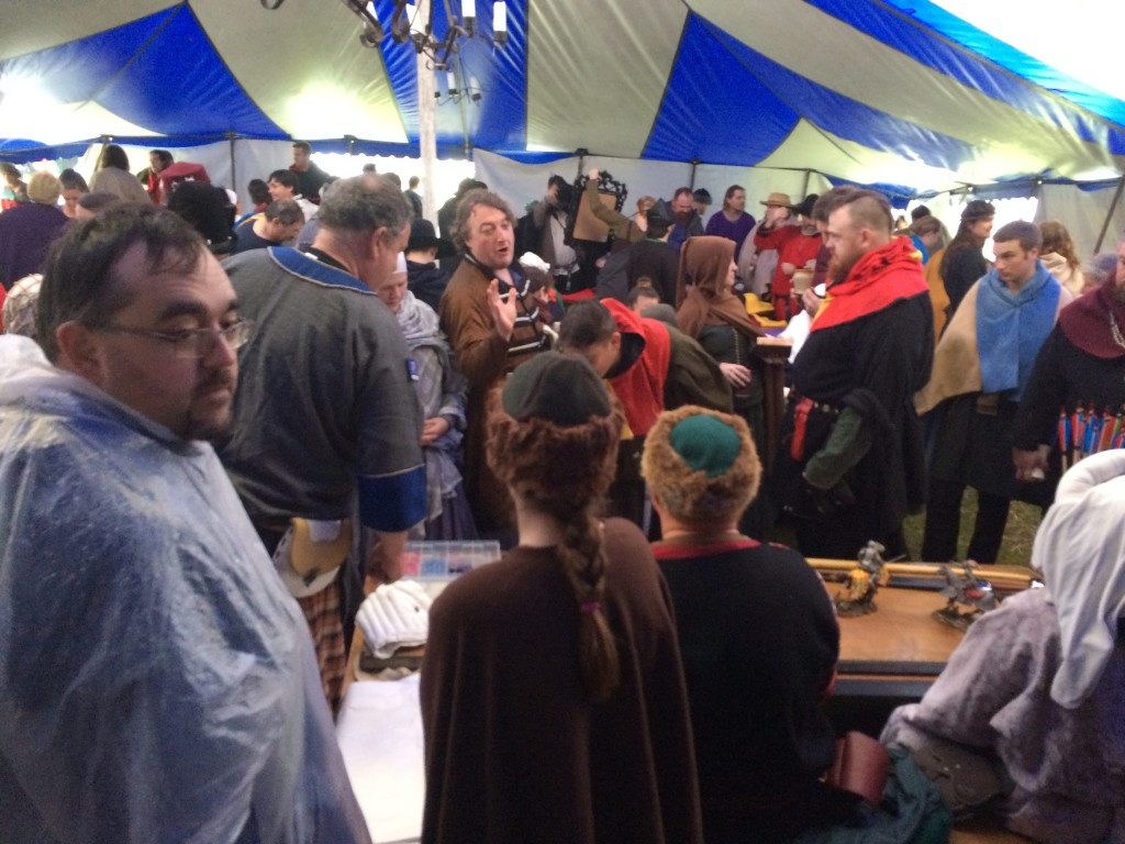 The markets inside the Tavern at Festival AS49. Photo by THL Ceara Shionnach, April 2015.