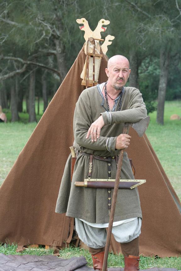 Master WulfWine of Grimwald, member of House Deorc. Photo provided by Master WulfWine of Grimwald.
